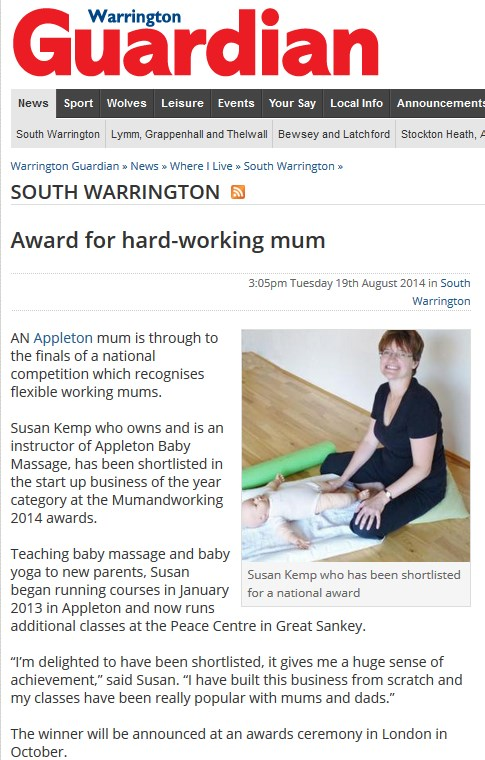 Working Awards News