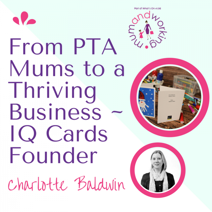 from pta mums to a thriving business  u2013 the iq cards